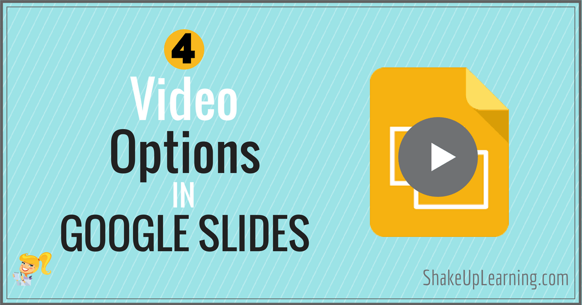how to add video to google slides app