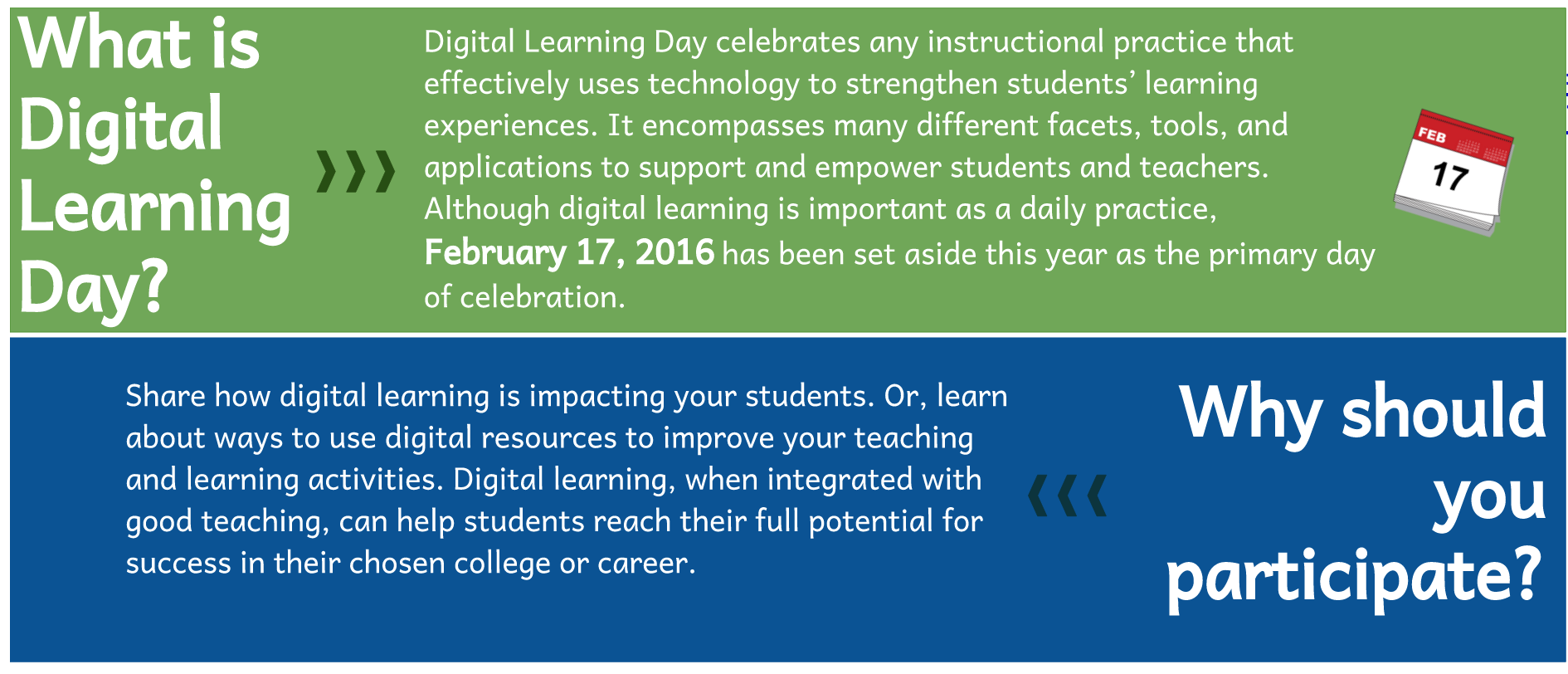 DCSD Digital Learning Day Challenge