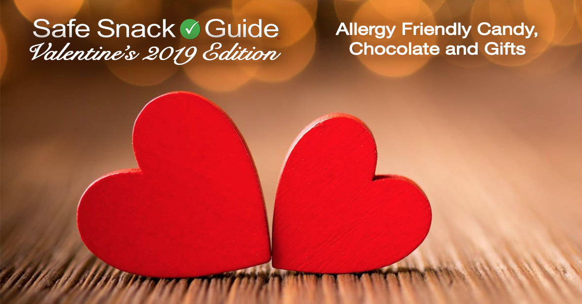 Valentine's Day 2019 Edition of the Safe Snack Guide! | SnackSafely.com