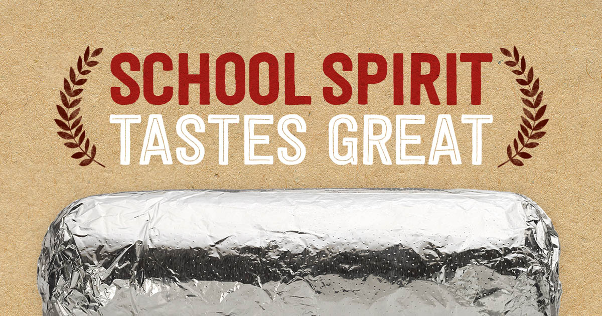 Join us for a fundraiser at Chipotle
