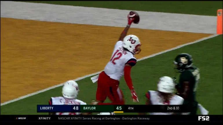 WATCH: FCS Liberty shocks Baylor 48-45