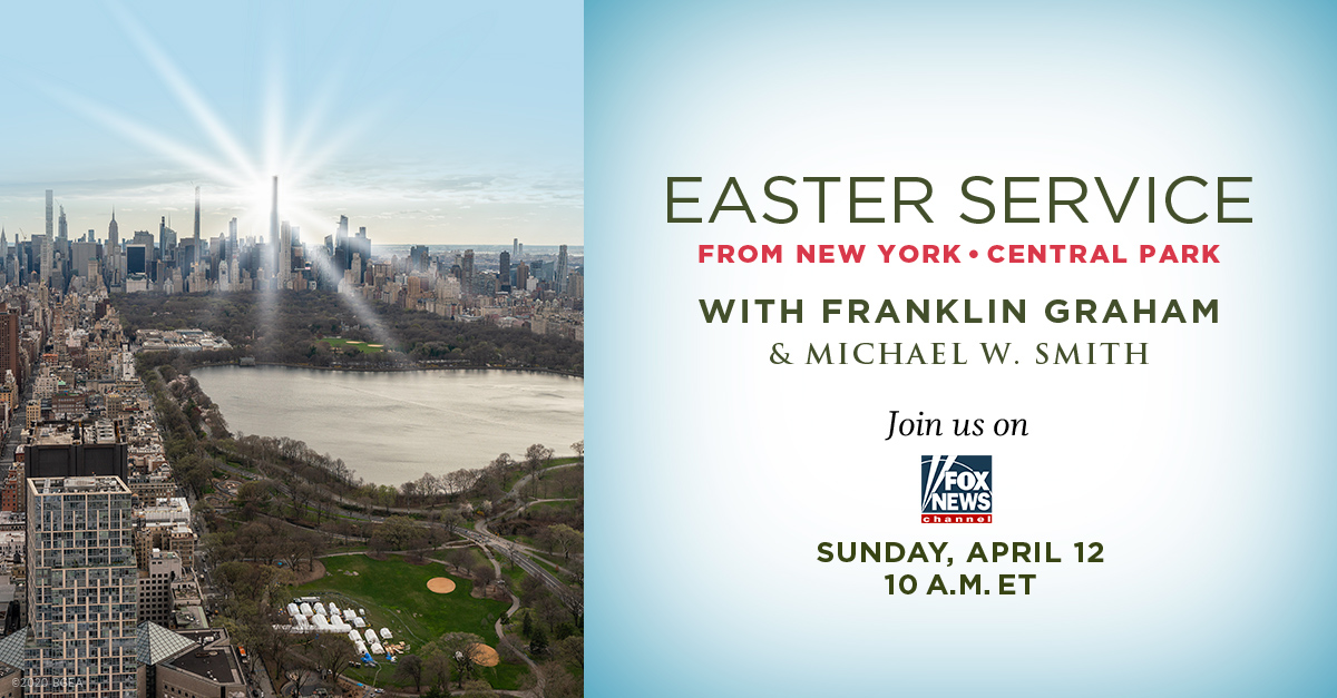 Watch Easter Service from NYC's Central Park