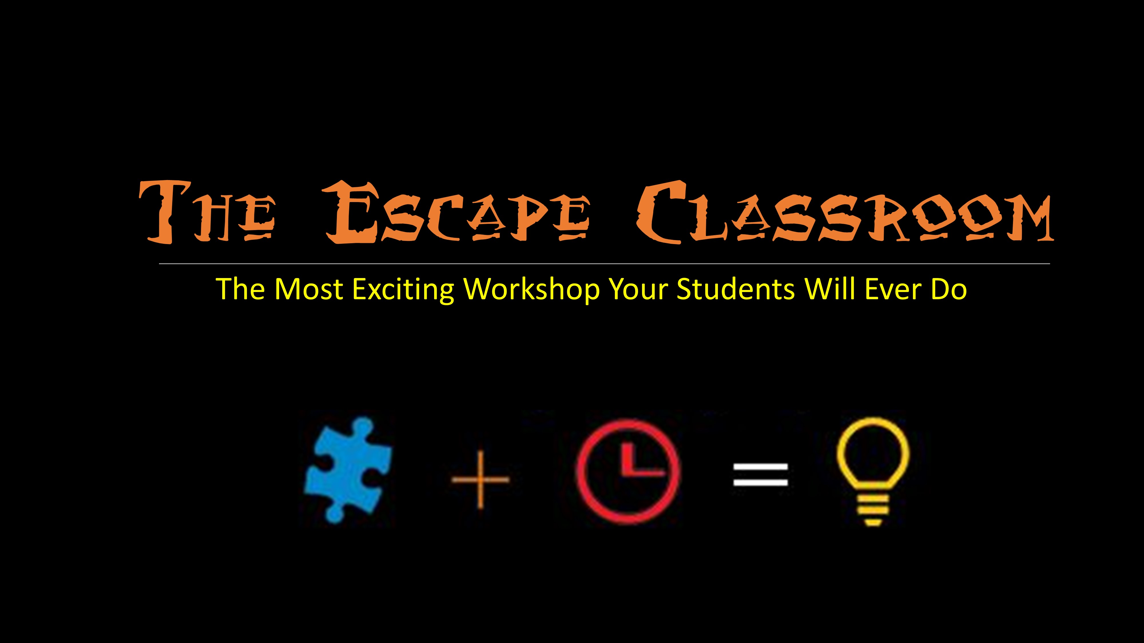 The Escape Classroom