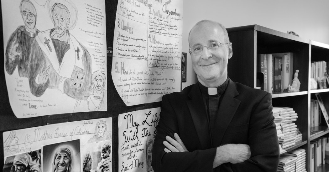 Jesuit Priest Stands Up for Gay Catholics, Then Faces Backlash