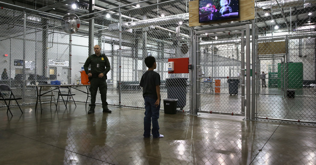 Opinion | The Cruel Ploy of Taking Immigrant Kids From Their Parents