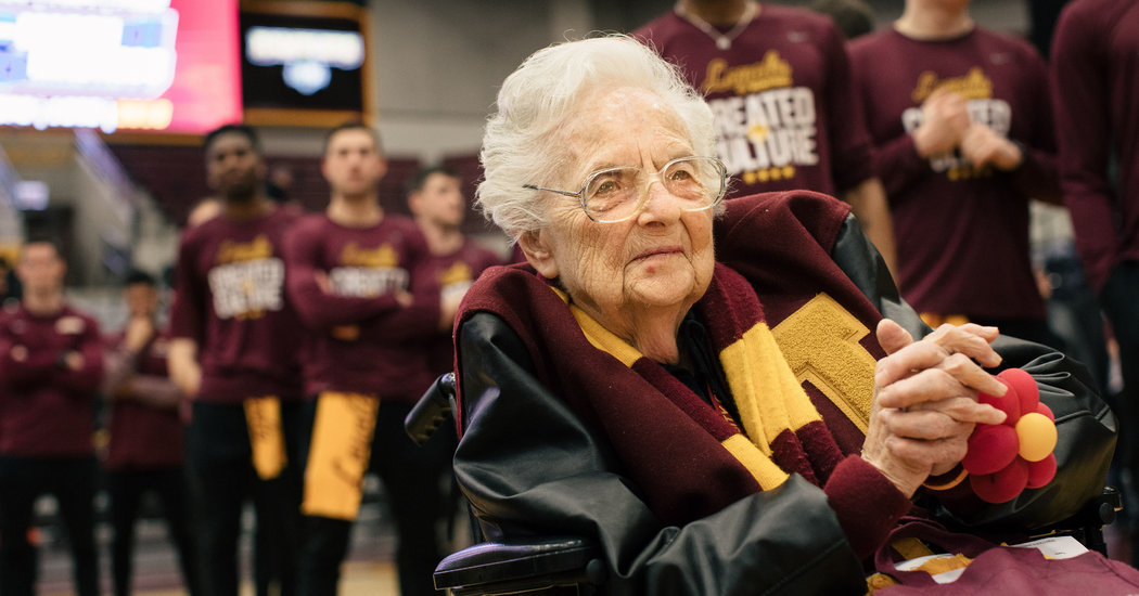 The Nun in Loyola-Chicago's Huddle Has a Few Things to Say