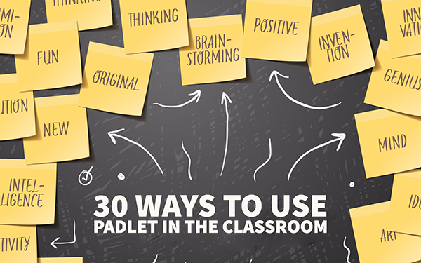 30 creative ways to use Padlet for teachers and students