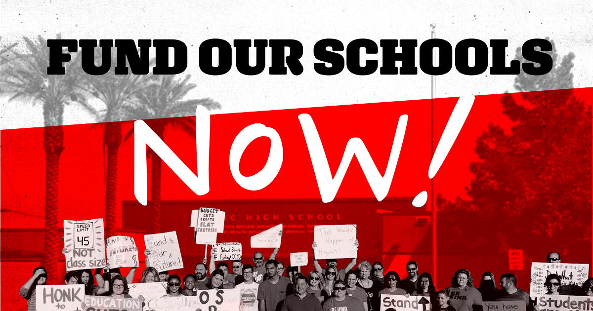 FUND OUR SCHOOLS NOW PETITION