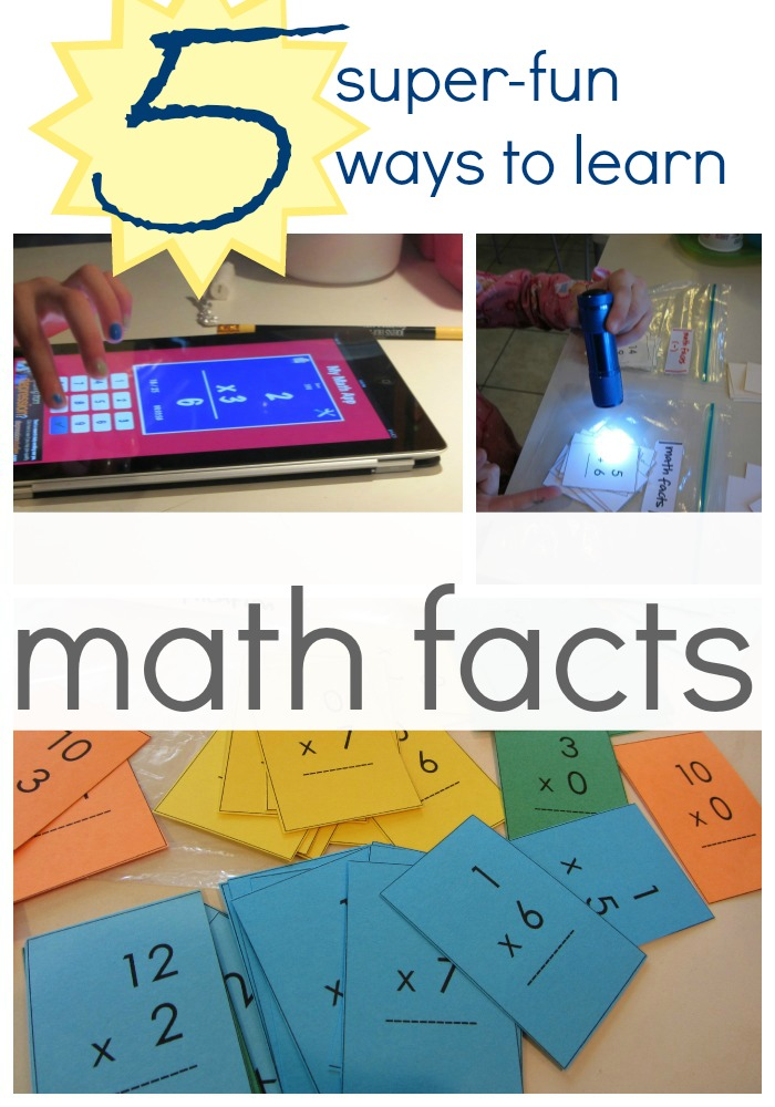 5 super-fun ways to learn math facts