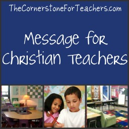 A Message for Christian Teachers