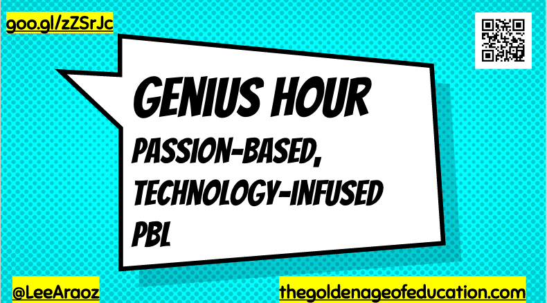 Genius Hour: Passion-Based, Technology-Infused PBL