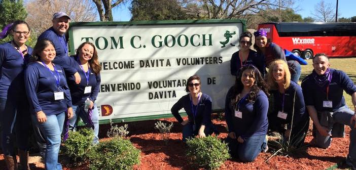 DaVita Rx volunteers help out at Gooch Elementary | The Hub