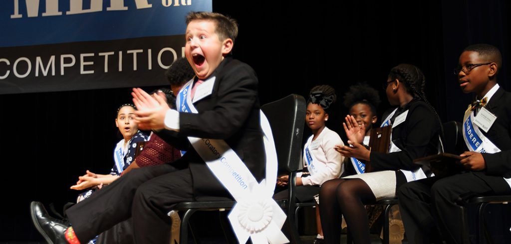 Withers Elementary student takes top prize in MLK Jr. Oratory Competition | The Hub