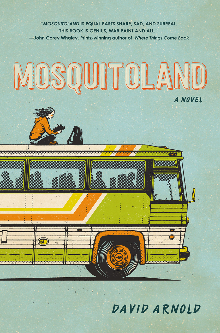 The Debut Club: An Interview with David Arnold, author of MOSQUITOLAND