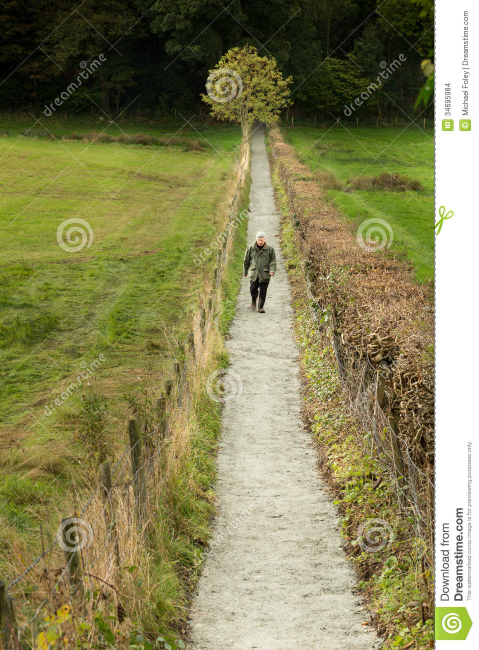 http://thumbs.dreamstime.com/z/straight-narrow-path-lone-senior-citizen-walking-briskly-along-34695984.jpg