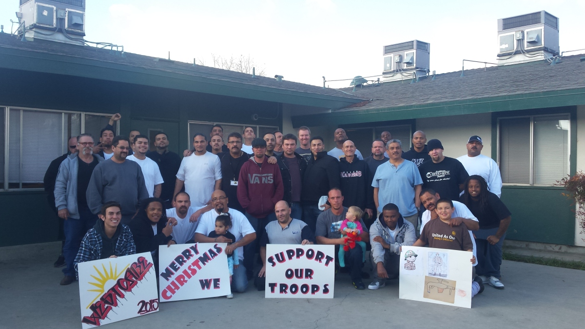 A letter of thanks to our troops!