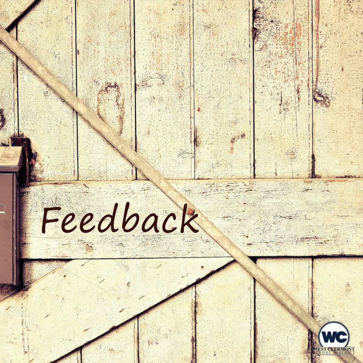 West Clermont Words:  Feedback