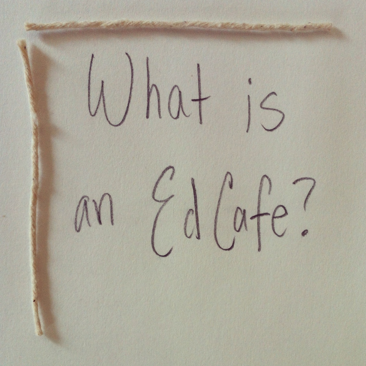 What is an EdCafe?
