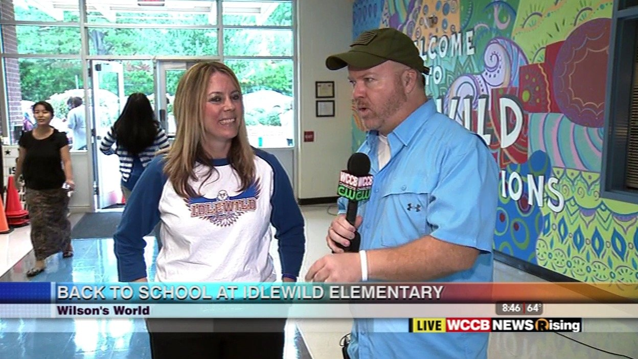 Wilson's World: Visiting Charlotte's #1 Magnet School in the Country, Idlewild Elementary School - WCCB Charlotte