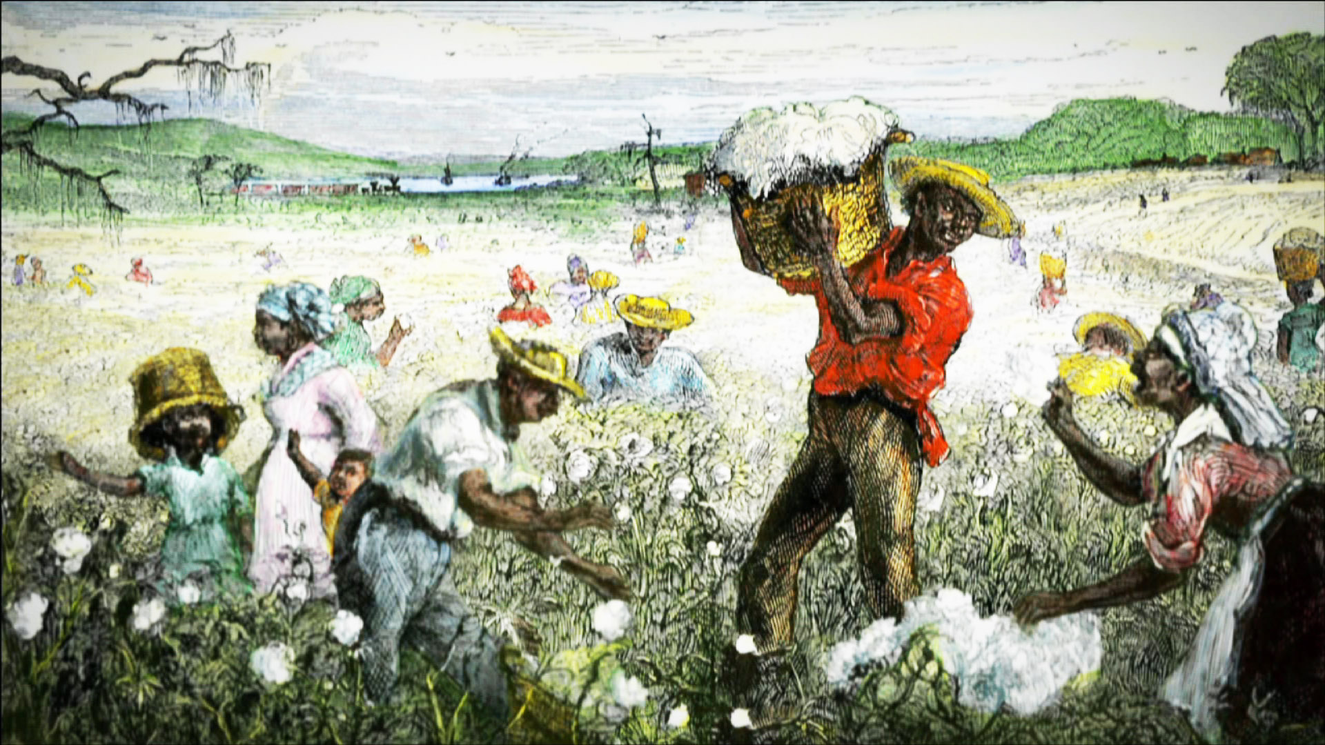 The Cotton Economy and Slavery | Video | The African Americans: Many Rivers to Cross | PBS