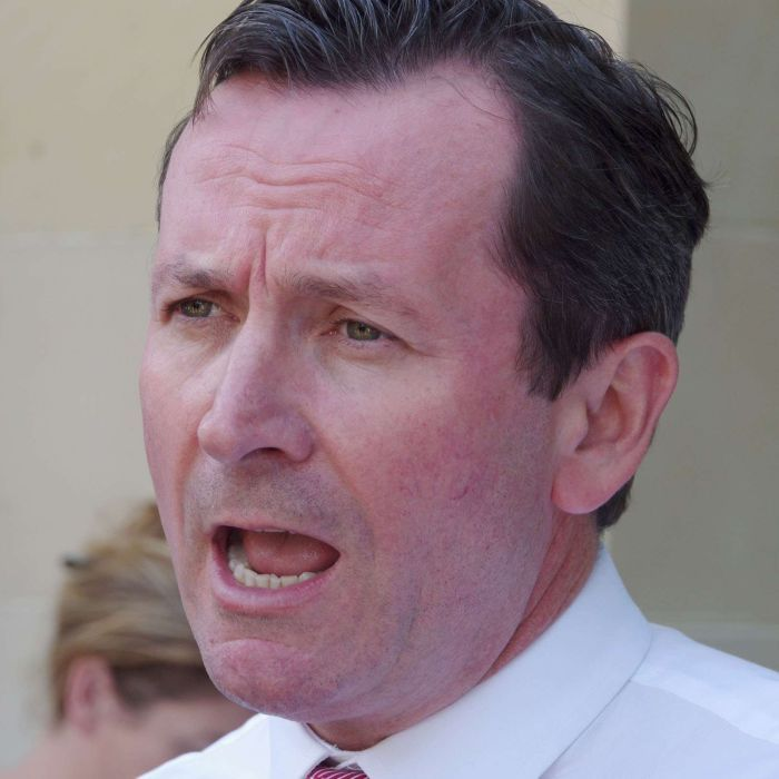 Premier backs WA top cop over war of words with Labor leader