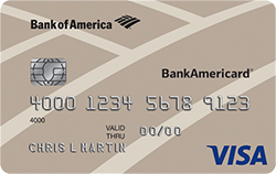 BankAmericard® Credit Card from Bank of America