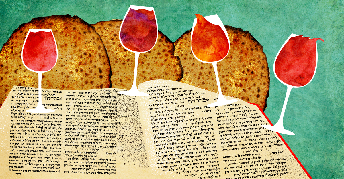 What Is a Seder? - A quick, one-page overview of the Passover Meal's steps