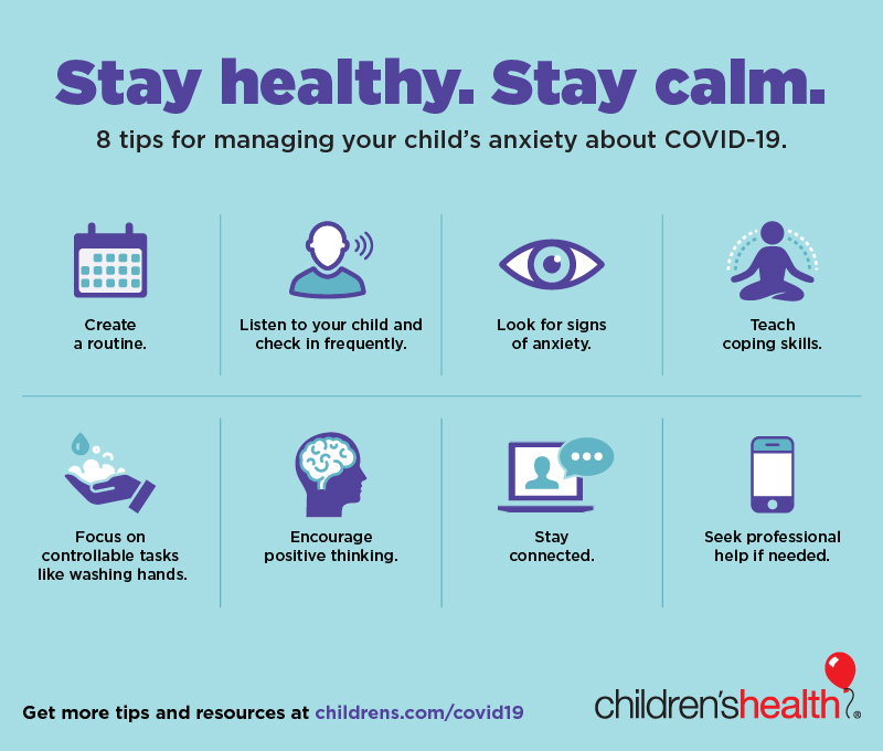 Helping Children with Anxiety About COVID-19 - Children's Health