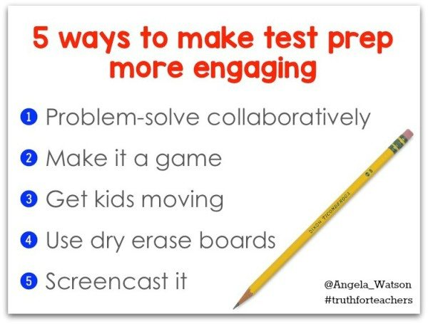 5 Tips to Triumph over Test Prep @coolcatteacher
