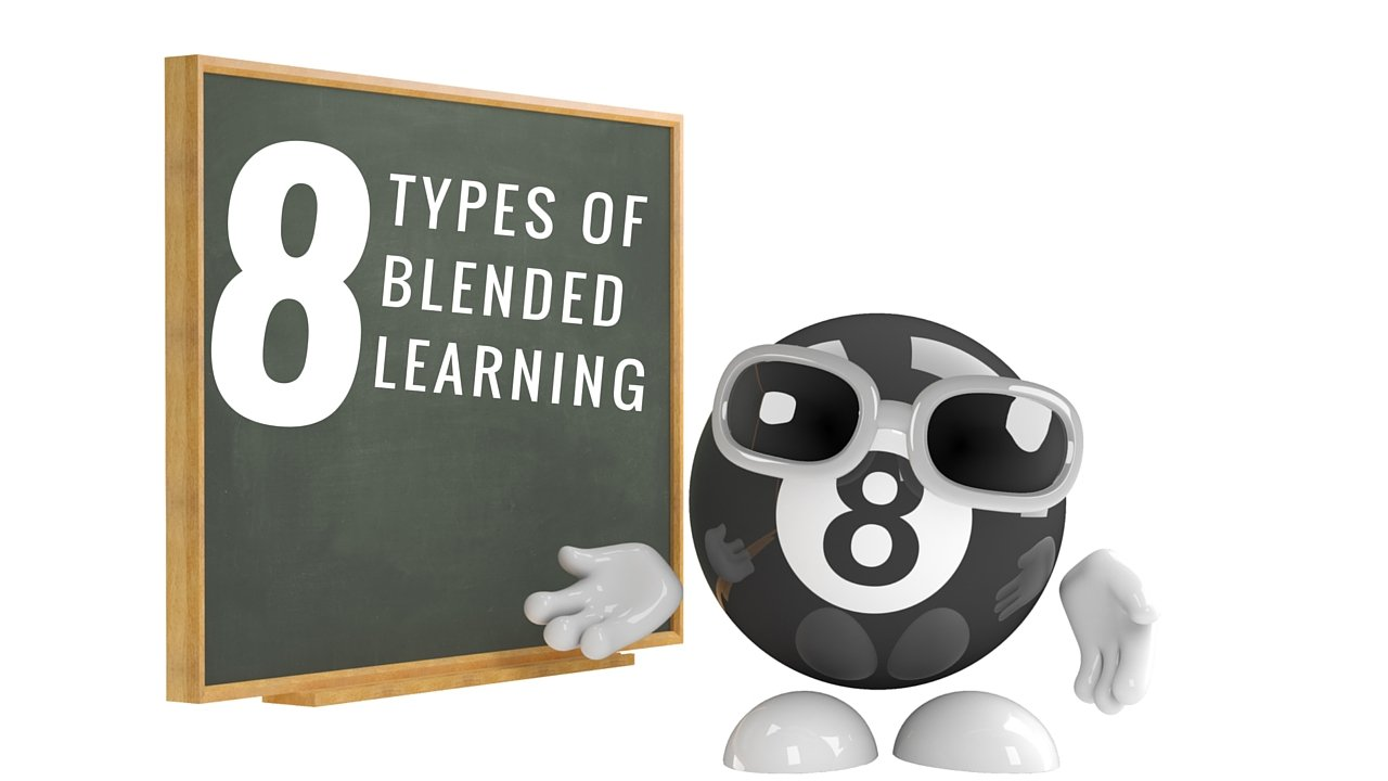 8 Types of Blended Learning According to Research @coolcatteacher