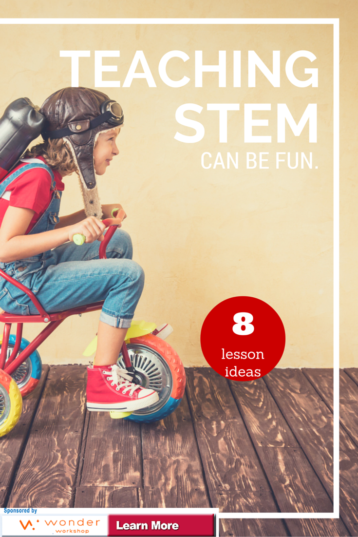 Make STEM Fun. 8 Lesson Plans that Excite STEM Learning