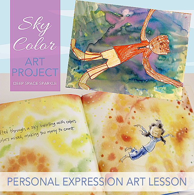 Sky Color Expressive Art Project | Deep Space Sparkle