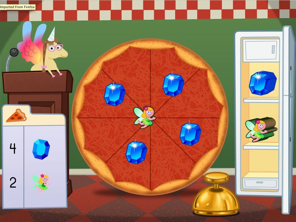 Counting Pizza Party - Math Game