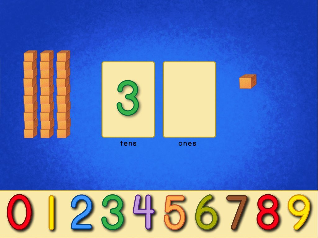 Place Value Blocks - Math Game