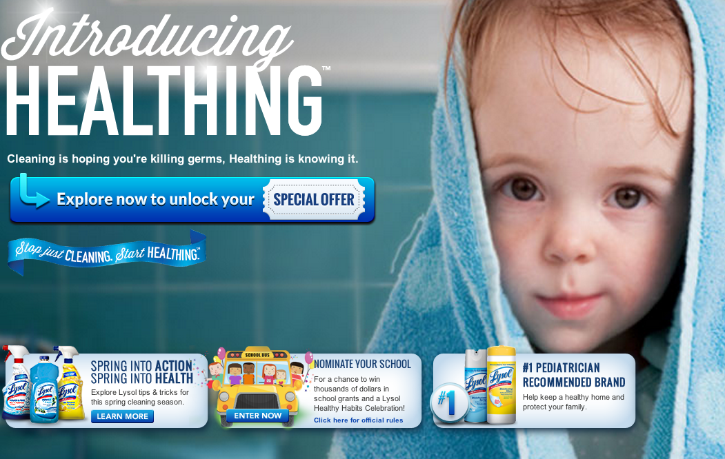 "Is Lysol's New Crusade Against Germs ""Healthing"" or Hurting?"