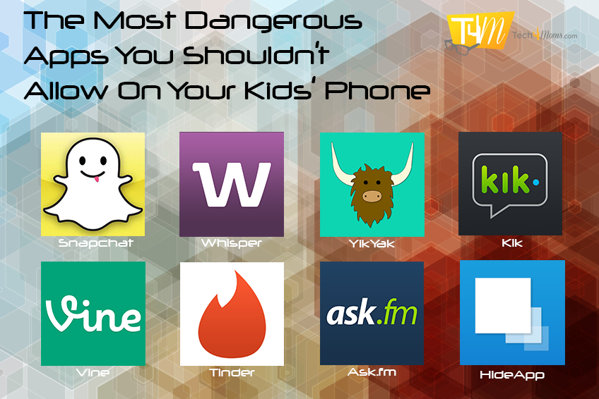 The Most Dangerous Apps for Kids
