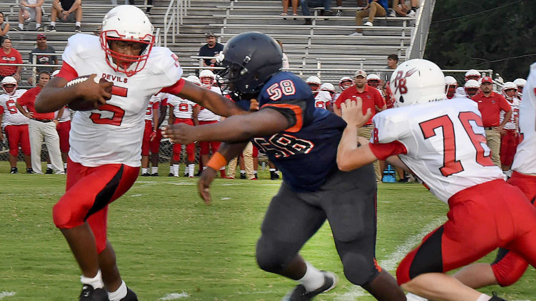 Opelousas, Port Barre, Eunice JV come away with jamboree wins