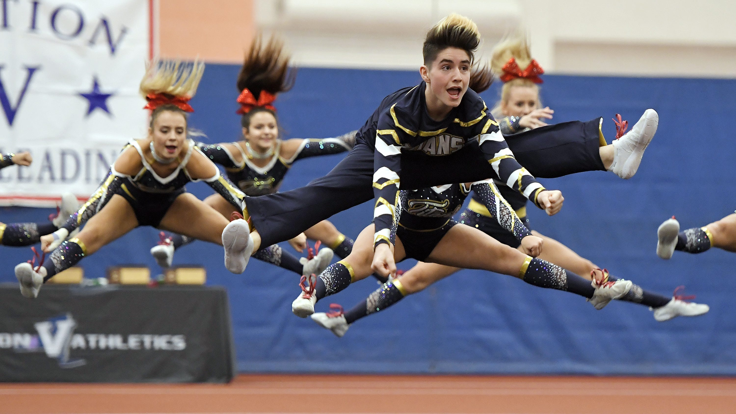 Webster Thomas, Fairport, Spencerport among Section V Fall Cheerleading champs