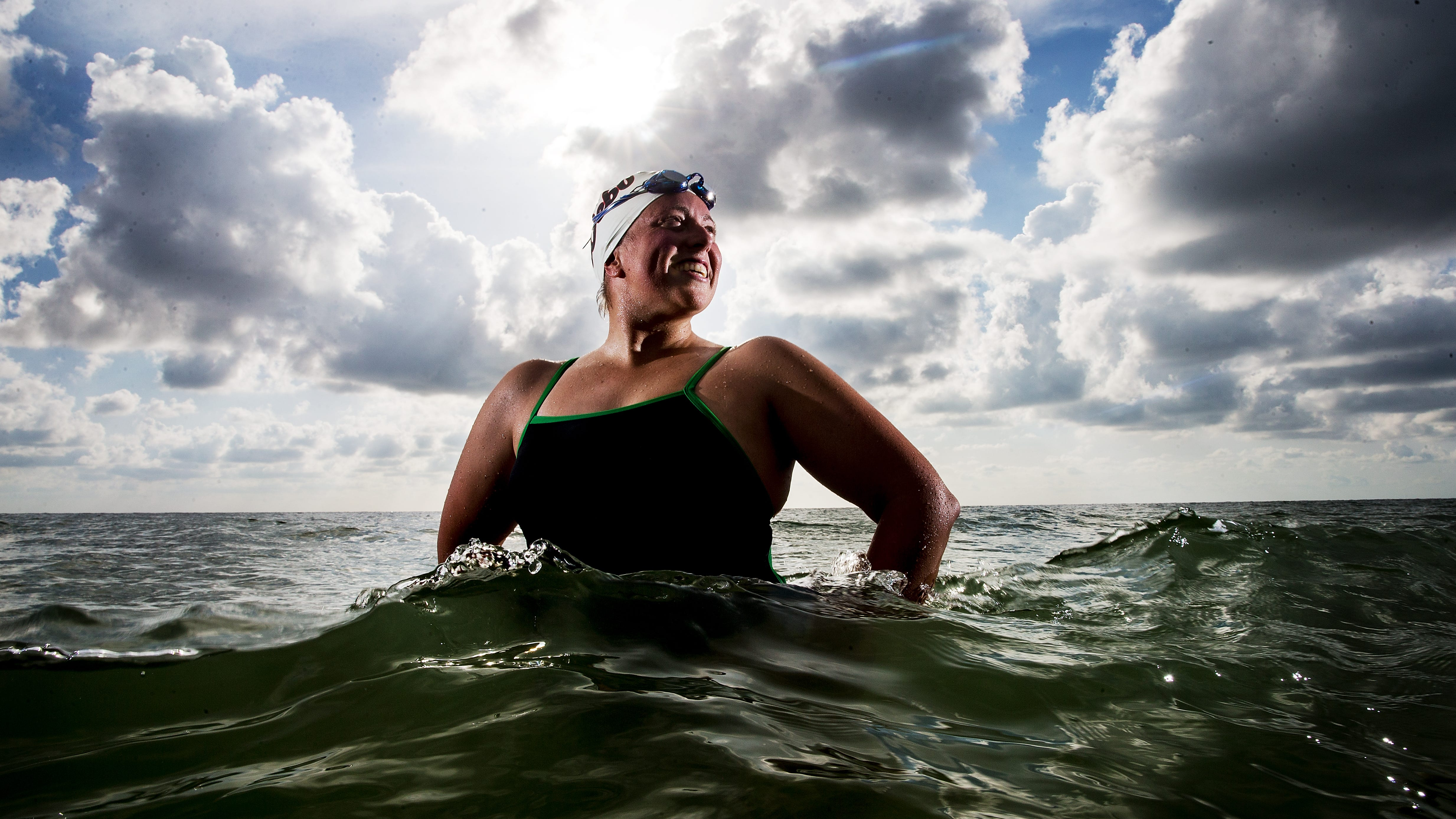 Double the triumph: Fort Myers' Heather Roka swims the English Channel and back in 25 hours