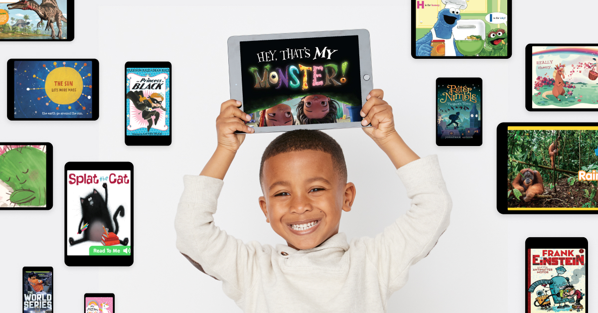 Instantly access 35,000 high-quality books for kids