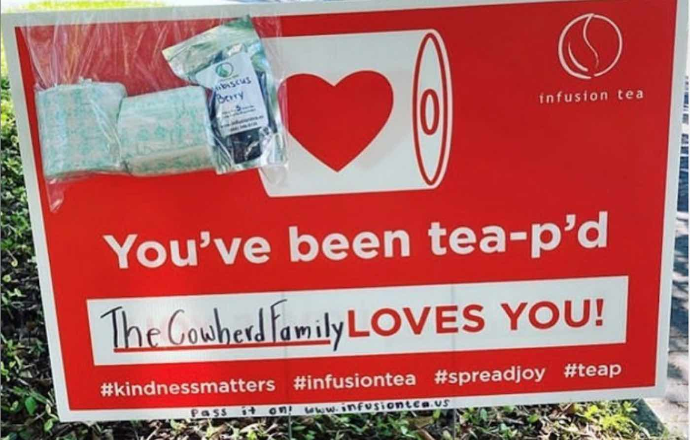 This Tea Company is Staying in Business By 'Tea-p'ing' People's Homes With Surprise Gifts