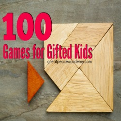 100 Games for Gifted Kids - Great Peace Academy