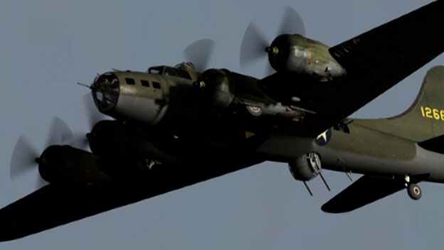 Boeing B-17 Flying Fortress Bomber Video - World War II History - HISTORY.com