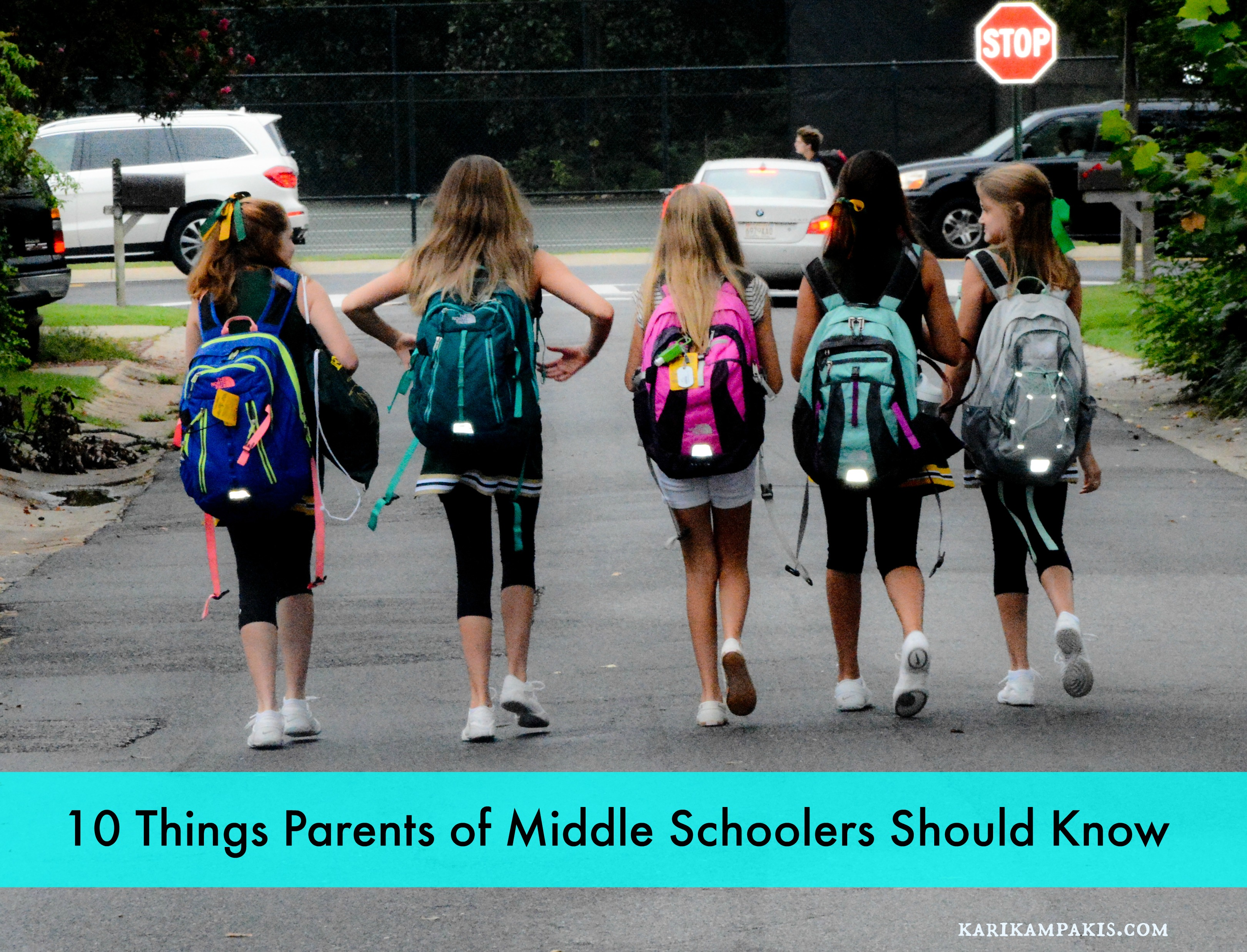 10 Things Parents of Middle Schoolers Should Know