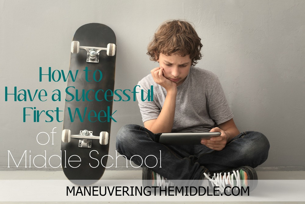 How to Have a Successful First Week of Middle School