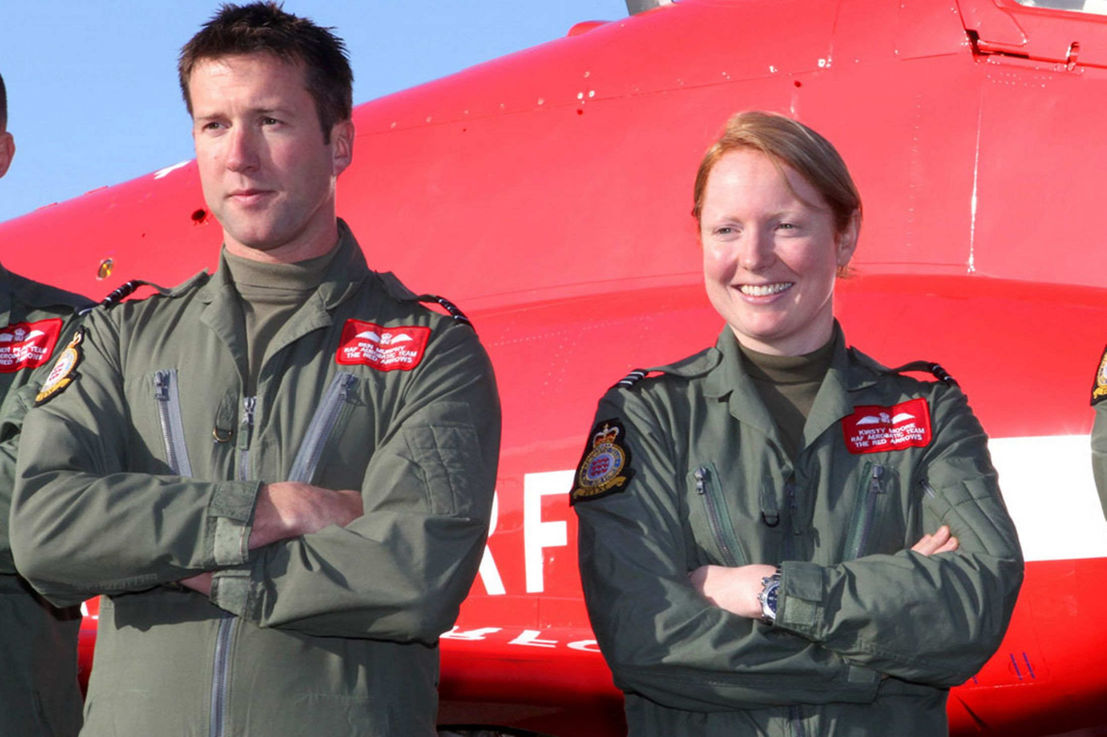 Red Arrow pilots to marry after denying affair to RAF bosses