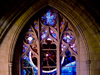 NASA - The 'Space Window' at National Cathedral in Washington