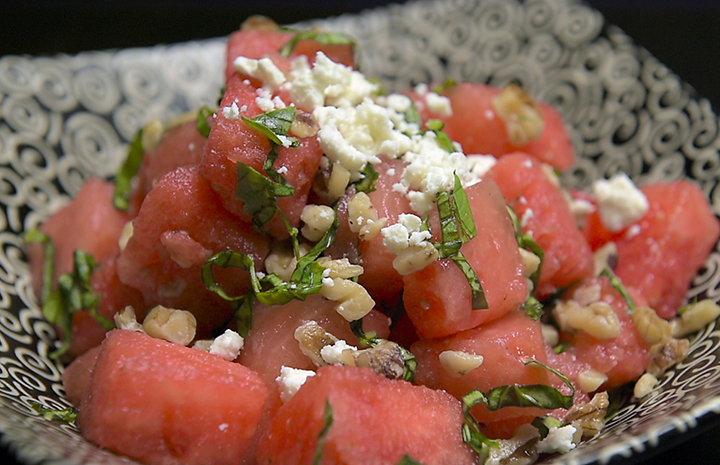 Fresh Recipe: Watermelon and Lime Basil Salad | NorthShore