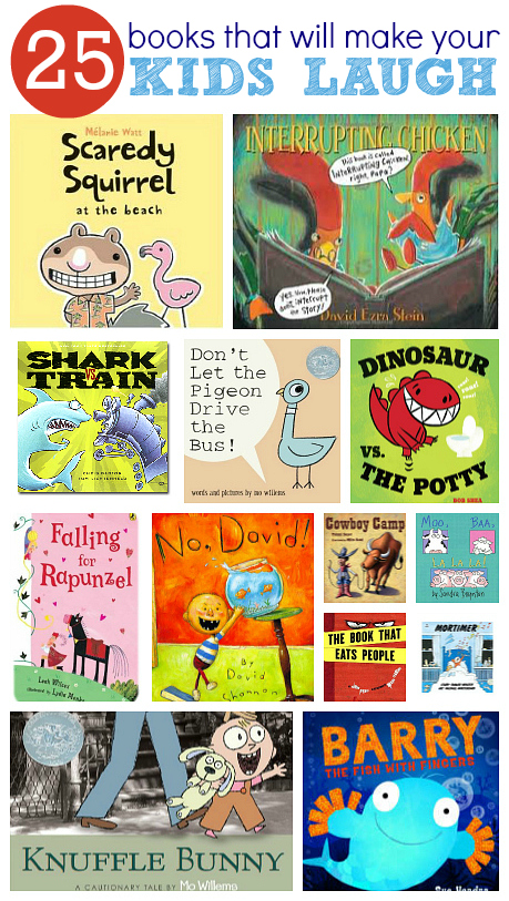 25 Funny Books For Kids - No Time For Flash Cards