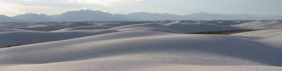White Sands National Monument (U.S. National Park Service)